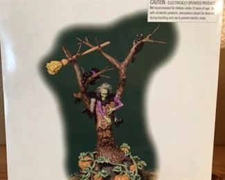 Dept 56 -- Witch Crash