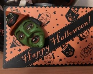 halloween witch pin