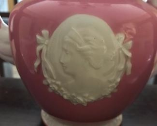 Pink Tea Set teapot (cameo detail)