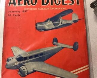 Aero Digest magazine, in great shape