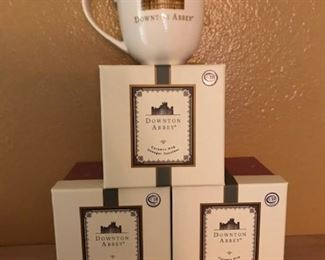 Downton Abby mugs