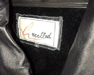 leather coat label
