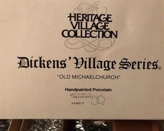dept 56 old michaelchurch label
