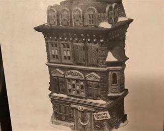 dept 56 Ebenezer Scrooge house