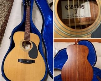 Nice Acoustic Guitar & Case