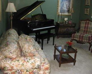 Berman baby grand piano
