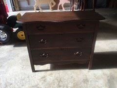 Antique Dresser wash stand over 100 years old