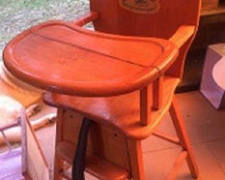 high chair 1960