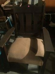 rocking chair  over 100 years old