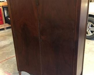 Beautiful Armoire wardrobe with casters