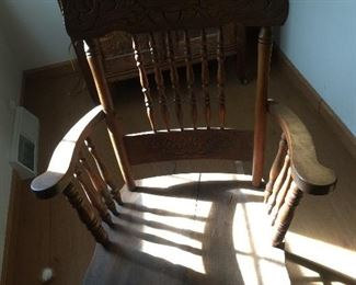 Great rocking chair early 1920's  have a few other rockers as well
