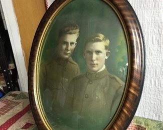Brothers Military framed photo, awesome