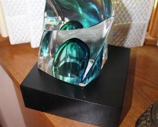 Göran Wärff for Kosta Boda crystal