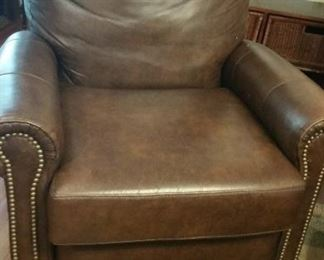 Bradington Young Leather Recliner