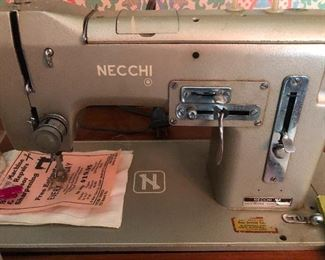 Necchi sewing machine (never heard of it but I bet it's THE BEST