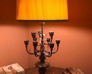 okay, is this a lamp with a base of like a candelabra? Because if so, How CRAY it that? YOU NEED THIS