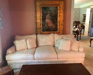 white sofa for the bravest of interior designers