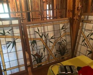 Lovely huge stained-glass windows