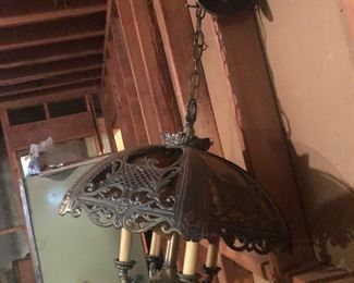 Gothic looking light fixture