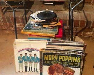 vintage LPs vinyl records!