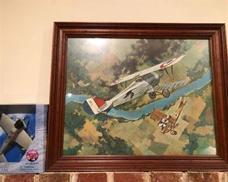 picture of the Great Biplane Battle of 1941