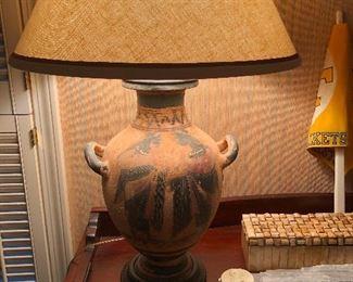 lamp with ears on sideways
