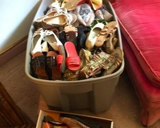 SO MANY SHOES! If you're a size 6--7 you'll never have to buy another pair after this sale