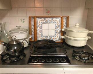 cast iron pans!