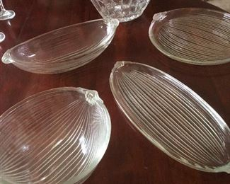 crystal serving plates and bowls boy are you gonna have a party