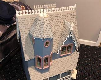 Vintage doll house & furniture