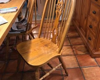 Set of 6 Kitchen chairs
