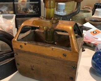 Antique butter mold