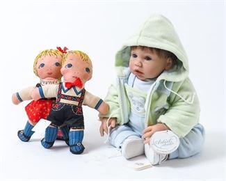 Middleton and Cloth dolls