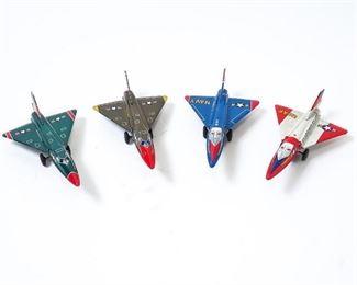 Tin Litho Friction toys