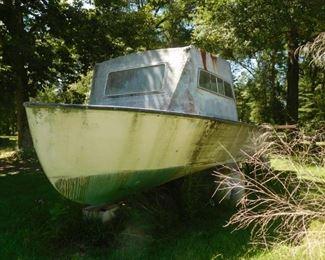 Vintage shrimp boat!