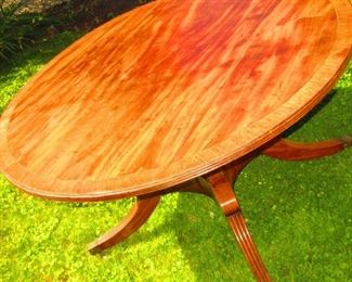 Late 18th, early 19th c tilt top table