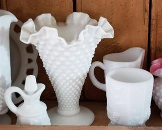 Very desirable Milk Glass for the collector.