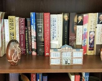 Lots of great books and very old books in this owner's collection
