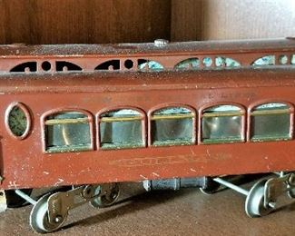 Pullman train car given to the owner when he retired from Pullman which was many years ago. At that time there were only 9 of them still in existence.