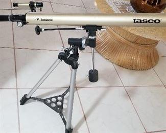 Tasco telescope.