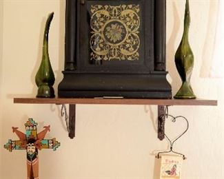 Great choice of clocks throughout this lovely home.