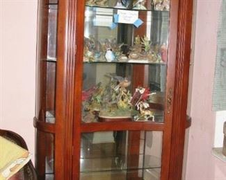 Beautiful large curio cabinet   BUY IT NOW $ 565.00
