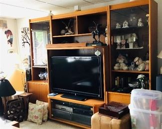 Wall Unit with out TV Buy it now $200