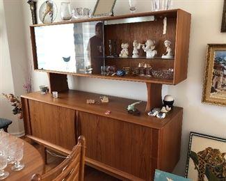 Bernhard Pedersen & Son Teak Danish Modern Credenza Buffet with Hutch Buy it NOW $2500