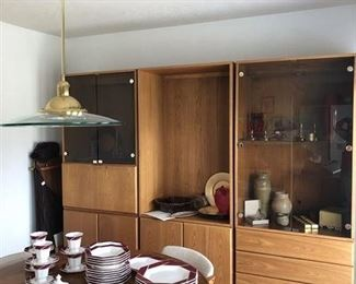 3 piece Modern in style Cabinets