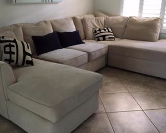 living room sectional (3Pcs) $1200.00