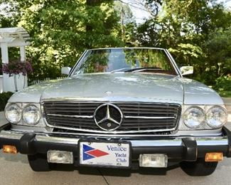 1977 MERCEDES 450SL Convertible