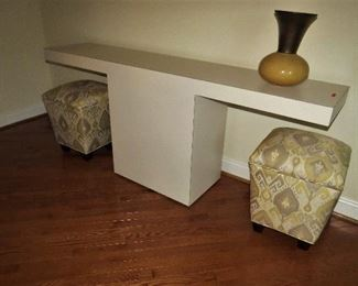 T shaped sofa/console  table