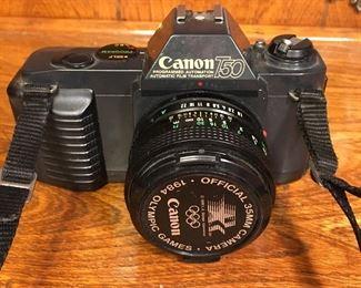 Canon T50 35 mm camera