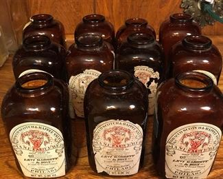 Old Snuff Bottles with Labels